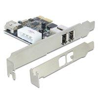 Kontroler PCI-E, DELOCK, 2x FireWire 1394A