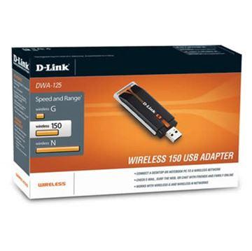 Mrežna kartica adapter USB2.0, D-LINK DWA-125, 802.11b/g/n, za bežičnu mrežu