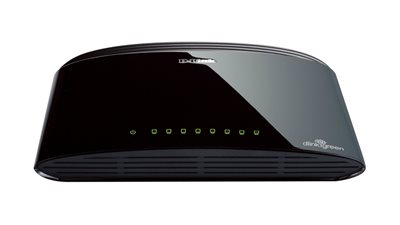 Switch D-LINK DES-1008D, 10/100 Mbps, 8-ports