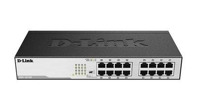 Switch D-LINK DGS-1016D, Gigabit Switch, 10/100/1000 Mbps, 16-port