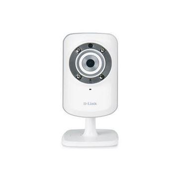 Mrežna sigurnosna kamera D-LINK DCS-932L, LAN, WiFi, noćno snimanje