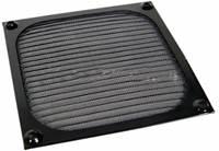 Filter protiv prašine, aluminijski, za ventilator 120mm, crni