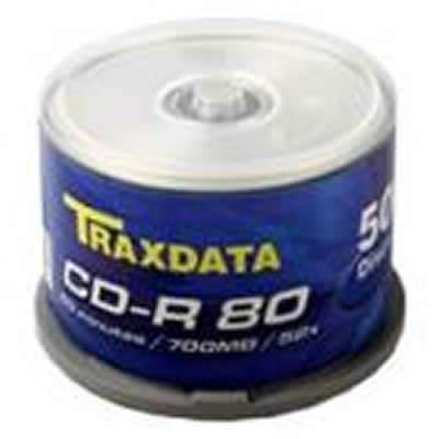 Medij CD-R TRAXDATA 52x, 700MB, spindle 50 kom