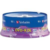 Medij DVD+R DL VERBATIM, 8X, 8.5GB, Printable, spindle 25 komada