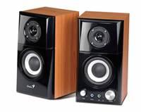 Zvučnici GENIUS SP-HF500A, 2.0, crno-smeđi