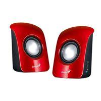 Zvučnici GENIUS SP-U115, 2.0, USB, crveni