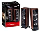 Zvučnici GENIUS SP-HF2020 V2, 2.0, boja drveta