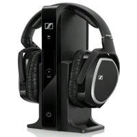 Slušalice Sennheiser RS 165, bežične, crne