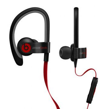 Slušalice BEATS Powerbeats2, in-ear, crne