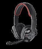 Slušalice TRUST GXT 340 7.1, Gaming, crno-crvene