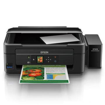 Multifunkcijski uređaj EPSON L365, print/scan/copy, Ink Tank System -> iznimno povoljan ispis, nova tehnologija, 5760 dpi, USB, Wi-Fi