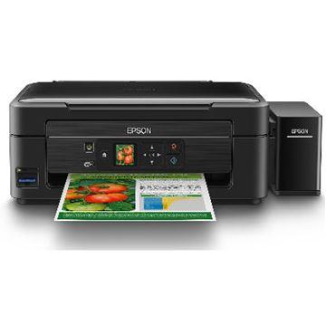 Multifunkcijski uređaj EPSON L455, print/scan/copy, Ink Tank System -> iznimno povoljan ispis, nova tehnologija, 5760 dpi, USB, Wi-Fi