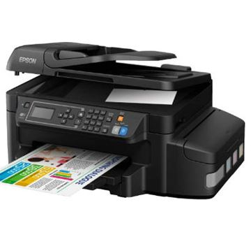 Multifunkcijski uređaj EPSON L655, print/scan/copy/fax, Ink Tank System -> iznimno povoljan ispis, nova tehnologija, 4800 dpi, USB, LAN, Ethernet