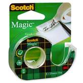 Ljepljiva traka Scotch Magic 8-1975D, 19mm x 7,5m + dispenzer