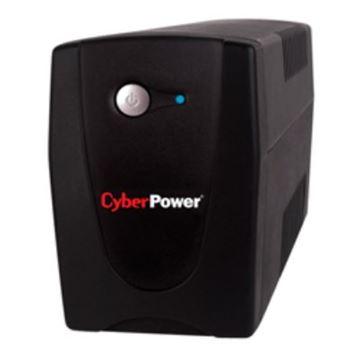 UPS CYBERPOWER Value, 600VA, 600ELCD, crni