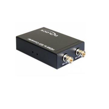 Adapter DELOCK, HDMI-A (Ž) na 2x BNC (Ž) (2 x SDI, paralelno)