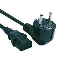 Kabel LC POWER, naponski, 1.2m, crni