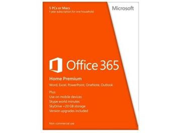 MICROSOFT Office 365 Home Premium, licenca 1 godina, Hrvatski, 6GQ-00323