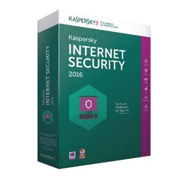 KASPERSKY Internet Security 2016, 3 PC, licenca jedna godina, retail + 1 gratis retail