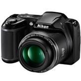 Digitalni fotoaparat NIKON Coolpix L340, 20.2 Mpixela, 28x optički zoom, SD/SDHC/SDXC, USB, crni