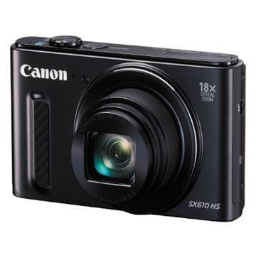 Digitalni fotoaparat CANON Powershot SX610HS, 20 Mpixela, 18x optički zoom, SDXC/SD/SDHC, mHDMI, USB, crni