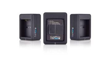 Dodatak za sportske digitalne kamere GOPRO HERO 3+, Dual Battery Charger, punjač za dvije baterije