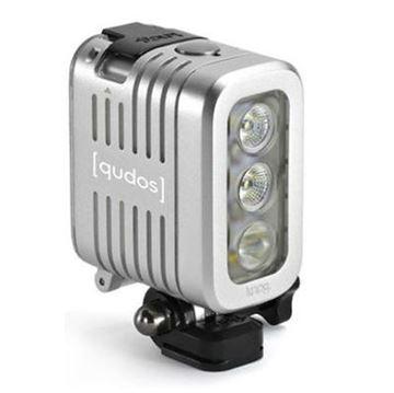Dodatak za sportske digitalne kamere GOPRO Knog Qudos, LED svjetlo, srebrni