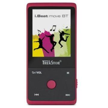 MP3 player TREKSTOR i.Beat move BT, 8 GB, crveni