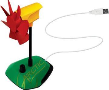 Ventilator ARCTIC Cooling Breeze Rasta, 92mm, potenciometar, USB