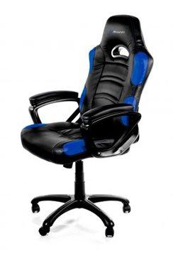 Gaming stolica AROZZI Enzo, crno-plava