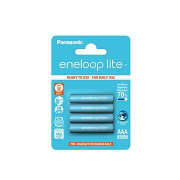 Baterija PANASONIC Eneloop Lite BK4LCCE4BE, tip AAA, punjive, 4kom
