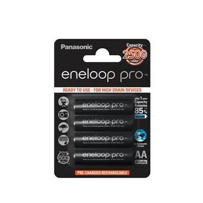 Baterija PANASONIC Eneloop PRO BK3HCCE4BE, tip AA, punjive, 4kom
