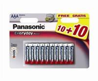 Baterija PANASONIC LR03EPS/20BW, AAA, 10+10 kom