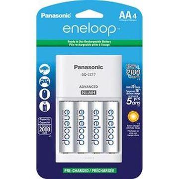 Punjač baterija PANASONIC Eneloop Smart Pro KKJ16HCC40E, brzi, 4 mjesta za punjenje + 4x 2450mAh AA baterije