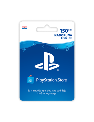 SONY PlayStation Live Card u vrijednosti 150HRK, za PS3 i PSP