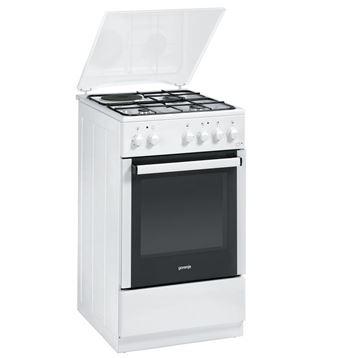 Kombinirani štednjak GORENJE K51102AW1, 3+1, energetska klasa B, bijeli