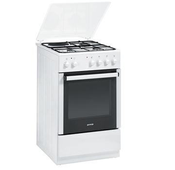 Kombinirani štednjak GORENJE K51102AW0, 3+1, energetska klasa B, bijeli