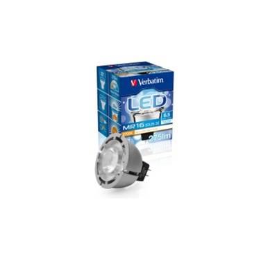 LED žarulja VERBATIM V052027, MR-16, 6.5W, GU5.3, topla bijela