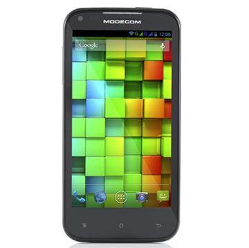 "Smartphone USED  MODECOM Xino Z46 X4, 4.6"" IPS, QuadCore A7 1.2GHz, 1GB DDR3, 4GB Flash, MicroSD, Dual SIM, WiFi, BT, GPS, 2x kamera, MicroUSB, Android 4.2.crni"