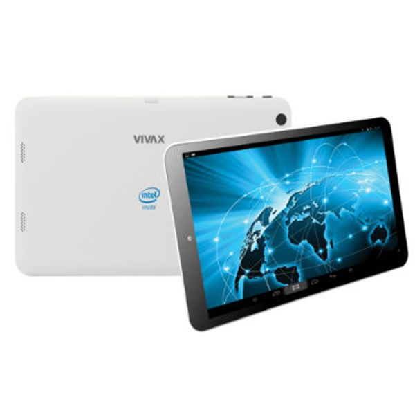 "Tablet računalo USED VIVAX TPC-9120, 9"" multitouch, DualCore Intel Atom Z2520 1.2GHz, 1GB RAM, 8GB Flash, MicroSD, USB 3.0, WiFi, BT, 2x kamera, Android 4.4, bijelo"