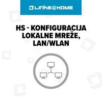 HS - Konfiguracija lokalne mreže, LAN/WLAN