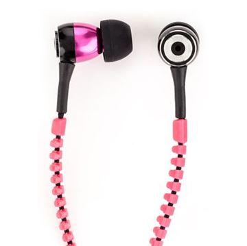 Slušalice SATZUMA Zip Earphones, narančaste