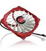 Ventilator RAIJINTEK Aeolus Beta, 120mm, bijelo-crveni