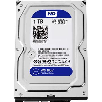 "Tvrdi disk 1000.0 GB WESTERN DIGITAL Blue, 10EZRZ, SATA3, 64MB cache, 5400okr./min, 3.5"", za desktop"