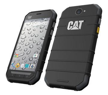 """Smartphone CAT S30, 4.5"""" multitouch, QuadCore Qualcomm MSM8909 1.1GHz, 1GB RAM, 8GB Flash, microSD, aGPS, 2x kamera, Android 5.1, posebni dizajn za otpornost, crni"""