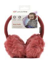 Zimske slušalice CELLULARLINE, crvene