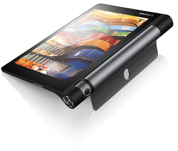 "Tablet računalo LENOVO Yoga Tab 3 ZA090005BG, 8"" IPS multitouch, QuadCore Qualcomm MSM8909 Snapdragon 210, 1GB, 16GB eMMC, microSD, WiFi, BT, kamera, Android 5.1, crno"
