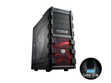 Kućište COOLERMASTER HAF 912 Advanced, RC-912A-KKN1, MIDI, USB 3.0, crno, bez PS