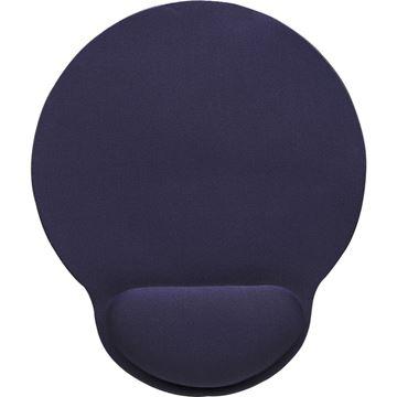 Podloga za miš MANHATTAN, sa izbočinom za zapešće, plava