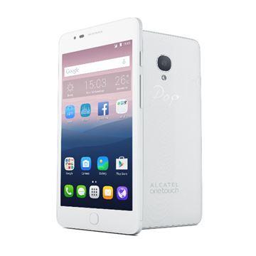 "Smartphone ALCATEL Onetouch POP STAR OT-5022D, 5"" multitouch, QuadCore MediaTek 1.3GHz, 1GB RAM, 8GB Flash, Dual SIM, microSD, 2x kamera, Android 5.1, bijeli"